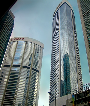 Hong Kong - the world's most vertical city!