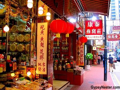 Tonic Food Street, Hong Kong, China