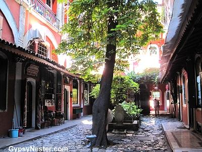 An alley in Istanbul, Turkey