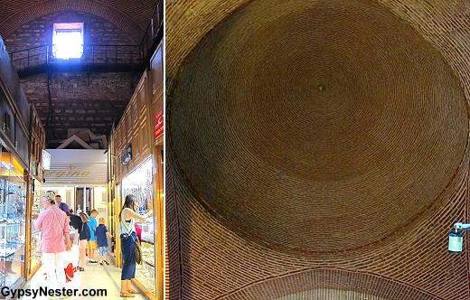The oldest part of the Grand Bazaar in Istanbul, Turkey