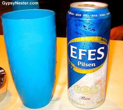 Efes Beer in Istanbul, Turkey