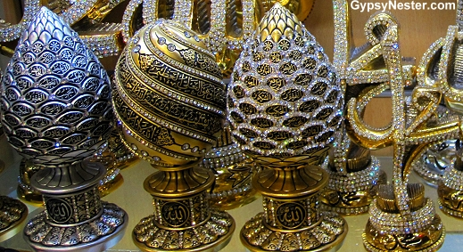 Jewel encrusted art in Istanbul