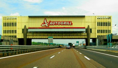 Overpass AutoGrill in Italy