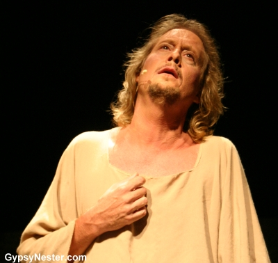 David as Jesus in Jesus Christ Superstar
