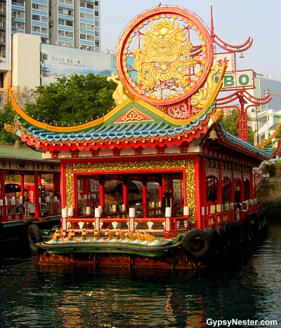 The REAL dock that goes to Jumbo Kingdom in Hong Kong