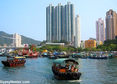 Aberdeen Harbor, Hong Kong