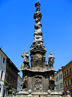 Plague Monument, Kutná Hora, Czech Republic
