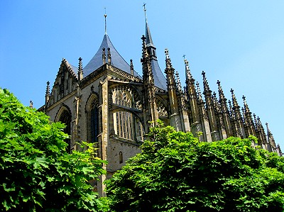 St. Barbara's Cathedral, Kutná Hora, Czech Republic