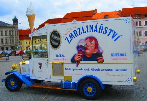 A Czech Ice Cream Truck