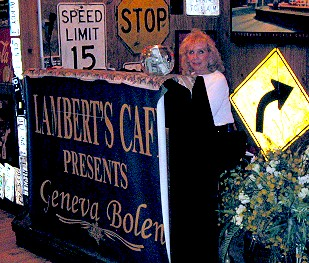 Lambert's Cafe Presents Geneva Bolen