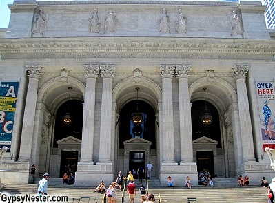 The New York City Public Library, Manhattan, New York City