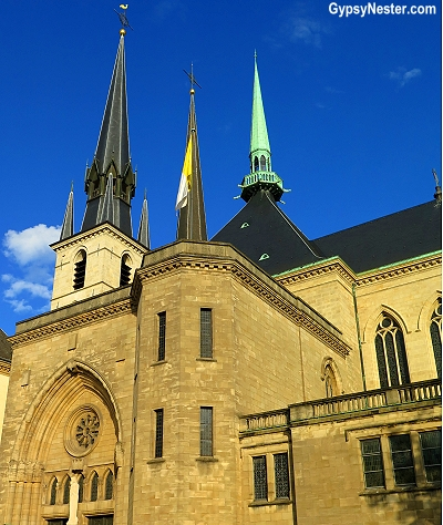 A church in Luxembourgh