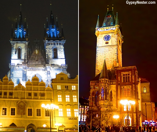 Prague is magical at night