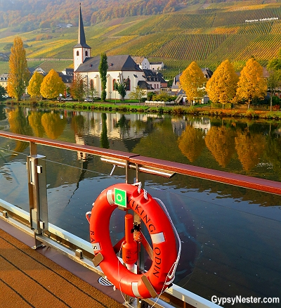 Riesling wine country in Germany