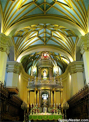 The Cathedral in Lima Peru