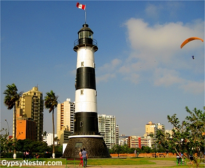 Lighthouse, Lima Peru
