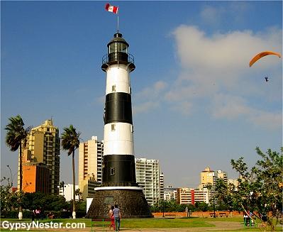 Lighthouse, Lima Peru
