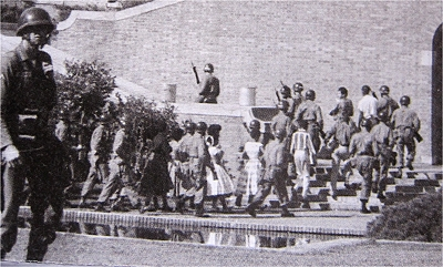 Little Rock Central High School and The Little Rock Nine
