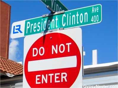 President Clinton Avenue, Little Rock Arkansas