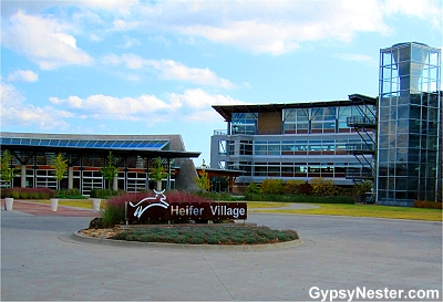 Headquarters of Heifer International, Little Rock Arkanasas