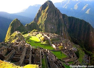Machu Picchu, the lost city of the Incas in Peru
