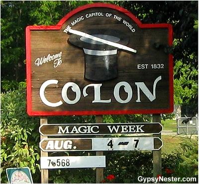 Colon, Michigan - Magic Capital of the World