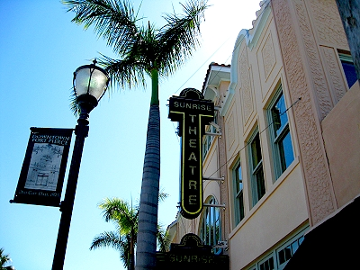 Sunrise Theater, Fort Pierce, Florida