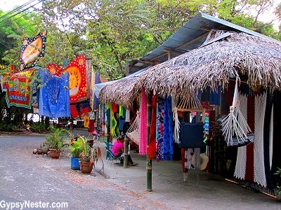 The town at Manuel Antonio, Costa Rica. GypsyNester.com