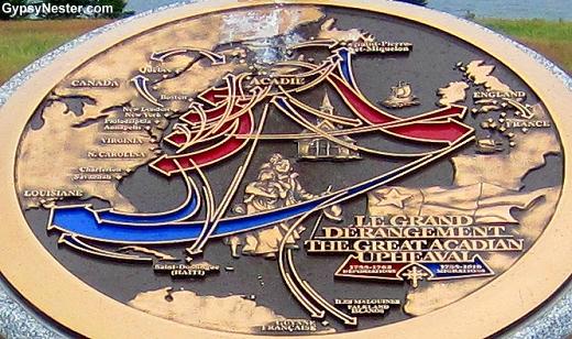 The Acadian Monument at Port-la-joye, Prince Edward Island