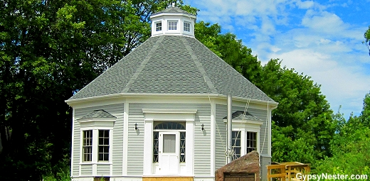 Octagonal home in New Brunswick