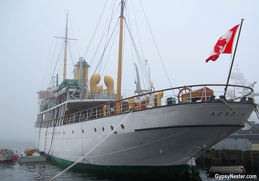 The tall ship Arcadia in Halifax, Nova Scotia