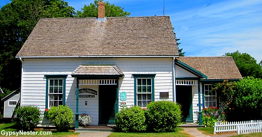 Lucy Maud Montgomery's birthplace on Prince Edward Island