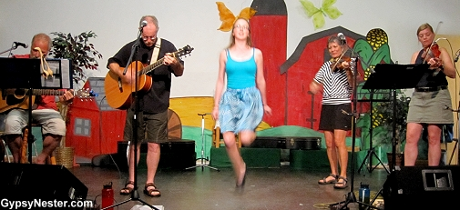 A traditional Ceilidh on Prince Edward Island