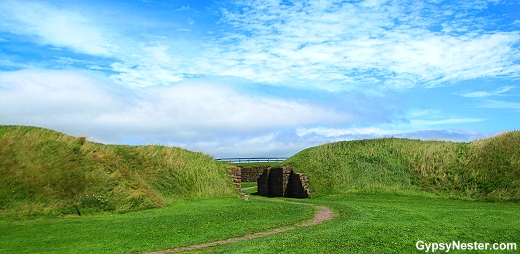 Fort Beauséjour in New Brunswick, Canada