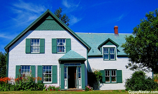 Green Gables, the house that spawned the novels