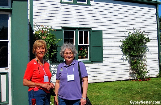 Nancy and Debby finally make it to Green Gables!