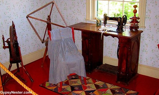 Marilla's Sewing Room at Green Gables
