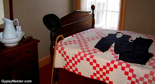 Matthew's bedroom at Green Gables