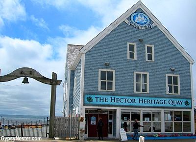 The Hector Heritage Quay, Pictou, Nova Scotia