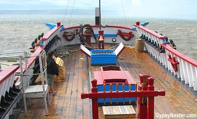 The Ship Hector in Pictou, Nova Scotia