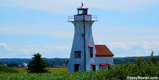 New London Bay Lighthouse in Prince Edward Island