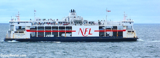 The ferry to Prince Edward Island from Nova Scotia