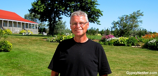 Boyde Beck, Curator of History for the Prince Edward Island Museum and Heritage Foundation