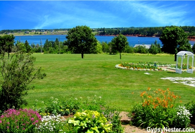 The view from Stanley Bridge Country Resort in Prince Edward Island