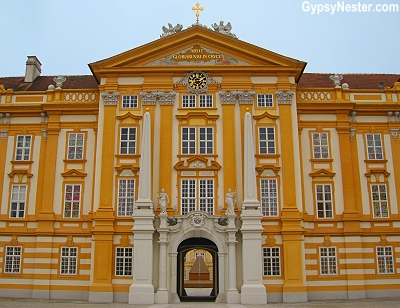 The Abbey in Melk, Austria
