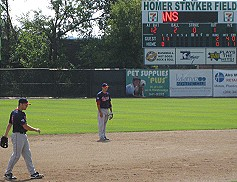 Homer Stryker Field in Kalamazoo, Michigan