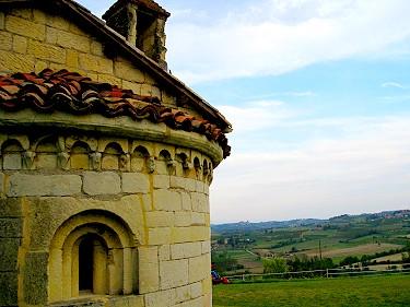 Tower atop Cave di Moleto, Italy