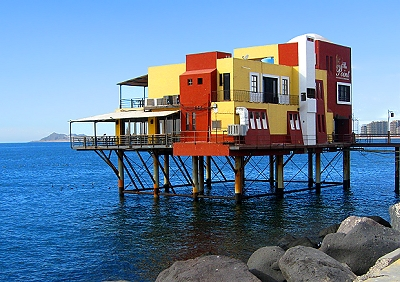 The Point restaurant in Rocky Point, Mexico