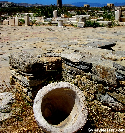 The Agora of Delos, Greece