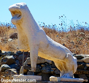 Lion of Delos in the Greek Islands